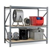 "Edsal ERP9648120A Bulk Racks with Welded Upright Frame - 96x48x120"" - Particleboard Decking - Add-On Units"