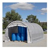 King Canopy G102008 Dome-Shape Storage Garage - 10'Wx20'Dx8'H