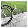 Vestil BR-GL-G Galvanized Bike Rack - Holds 2 Bikes