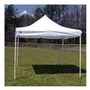 "King Canopy FSSHST10WH Heavy-Duty Instant Shelter - 10'Wx10'Dx10'10""H"