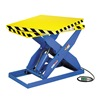 "Hercules LPT-050-36-RT Hydraulic Scissor Lift Table with Rotating Top - 5000-Lb. Capacity - 24""Wx48""D Platform - 1-Phase, 115V"