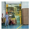 Aleco 452265 Interior Strip Door Kit - Fits 9'Wx9'H Doors - Smooth Clear-Flex II