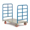 "Little Giant DR-2460-6PY Platform Trucks with Lattice Handles - 60""Lx24""W Deck"