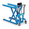 "Bishamon LV-10 SkidLift Manual Pallet Positioners - 1100-Lb. Capacity - 20-1/2""Wx42-1/2""L Forks"
