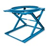 Vestil 5703500 Spring-Lift Pallet Stand With Carousel - 4000-Lb. Capacity