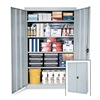 "Sandusky Lee EA4R362478-PUTTY Storage Cabinet - 36""Wx24""Dx78""H - Putty"