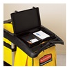 Rubbermaid FG617900BLA Waste Cover/Storage Compartment for High Capacity Cleaning Cart