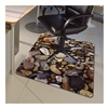 "Colortex FLR229220ECPB ColorTex Printed Polycarbonate Chair Mat - 48x36"" - Pebbles"