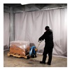 Goff's Enterprises 31643 Curtain Wall Climate Curtain - 5'Lx10'H Curtain
