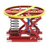 Palletpal SST PALLET PAL PalletPal Spring-Operated Level Loaders - Stainless Steel Frame With Epoxy-Coated Springs