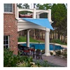 Sunshade Sail PC2000010B SunShade Sail Canopy - 10' Triangular - Blue