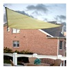 Sunshade Sail PC2000010Y SunShade Sail Canopy - 10' Triangular - Yellow
