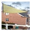 Sunshade Sail PC2000010Y SunShade Sail Canopy - 10' Triangular - Yellow