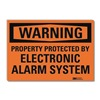 Lyle U1-1011-RD_7X5 Warning Sign, 7x5 In., English
