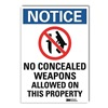 Lyle U1-1012-RD_10X14 Notice Sign, 14x10 In., English