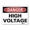 Lyle U1-1013-RD_7X5 Danger Sign, 7x5 In., English