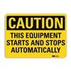 Lyle U1-1030-RA_14X10 Caution Sign, 14x10 In., English