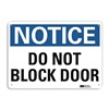 Lyle U1-1039-RA_14X10 Notice Sign, 14x10 In., English