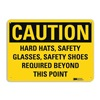 Lyle U1-1054-RA_14X10 Caution Sign, 14x10 In., English