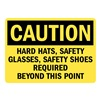 Lyle U1-1054-RD_14X10 Caution Sign, 14x10 In., English