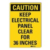 Lyle U1-1059-RD_10X14 Caution Sign, 14x10 In., English