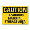 Lyle U1-1064-RD_14X10 Caution Sign, 14x10 In., English