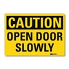 Lyle U1-1067-RD_14X10 Caution Sign, 14x10 In., English