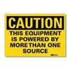 Lyle U1-1089-RD_10X7 Caution Sign, 10x7 In., English