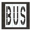 Rae STL-116-79615 Pavement Stencil, Bus, 96 in