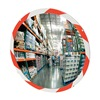See All Industries PLX36RT Hi-Vis Indoor Convex Mirror, 36 in dia