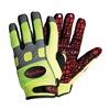 Refrigiwear 0379RHVLMED Cold Protection Gloves, M, Hi-Vis Lime, PR