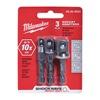 Milwaukee 48-32-5033 Socket Adapters,  Impact,  3Pc,  PK3