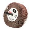 Scotch-Brite 244D Flap Wheel, 3 In. Dia., Medium, Pack of 10