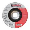 United Abrasives-Sait 22320 Combo Wheel, 4.5 In D, 7/8 In AH, 60 Grit