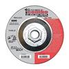 United Abrasives-Sait 22420 Combo Wheel, 4.5 In D, 5/8-11 AH, 60 Grit