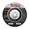 United Abrasives-Sait 22430 Combo Wheel, 4.5 In D, 5/8-11 AH, 60 Grit