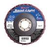 United Abrasives-Sait 71980 Flap Disc, 4.5 In D, 7/8 In Arbor, 40 Grit