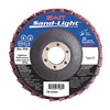 United Abrasives-Sait 71984 Flap Disc, 4.5 In D, 7/8 In Arbor, 120 Grit
