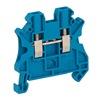 Schneider Electric NSYTRV22BL Trmnl Blk, Screw Clmp Tech Pssthrgh