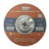 Weiler 56425 Depressed Center Wheel, 7 in, 5/8-11,1/8 T