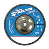 Weiler 51146 Flap Disc, 7 In, 5/8-11,40 Grit