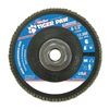 Weiler 51166 Flap Disc, 4-1/2 In, 5/8-11,60 Grit