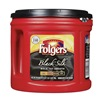 Folgers 2550000377 Black Silk Coffee, Regular, 27.8 oz., PK6