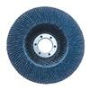 3M 51141553627 Flap Disc, Type 27,4-1/2in., 40 Grit, ZA