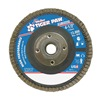 Weiler 51125 Flap Disc, Type 29,4-1/2in. dia.,  60 Grit