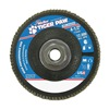 Weiler 51164 Flap Disc, Type 27,4-1/2in. dia.,  36 Grit