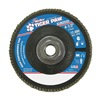 Weiler 51167 Flap Disc, Type 27,4-1/2in. dia., 80 Grit