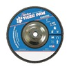 Weiler 51169 Flap Disc, Type 27,7in. dia.,  60 Grit