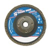 Weiler 51112 Flap Disc, Type 27,4-1/2in. dia.,  36 Grit