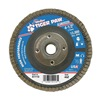 Weiler 51113 Flap Disc, Type 27,4-1/2in. dia.,  40 Grit
